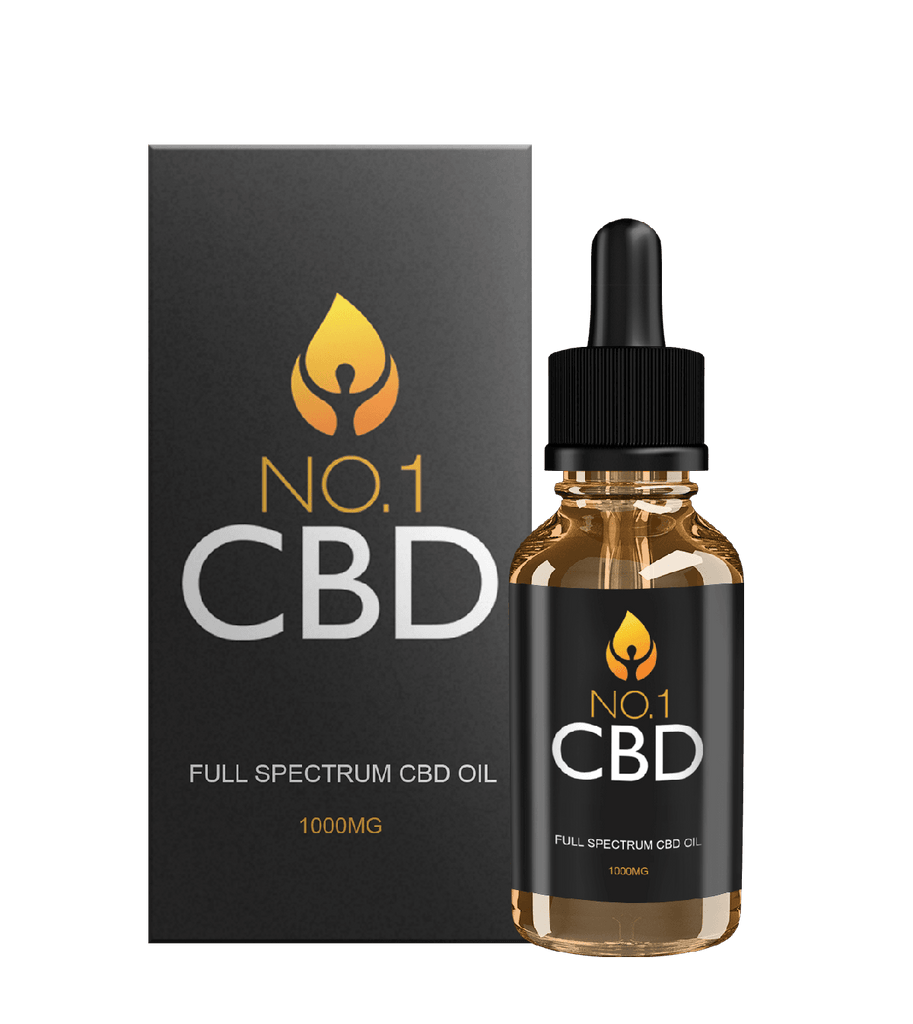 Full Spectrum CBD Oil 1000MG (30ml) - No1 CBD
