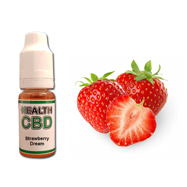 Strawberry Dream 200mg CBD E-Liquid