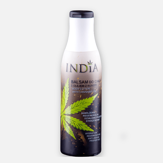 India Body Balm With Added Hemp Oil - No1 CBD
