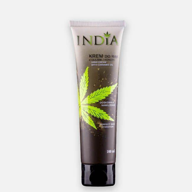 India Hand Cream With Added Hemp Oil - No1 CBD