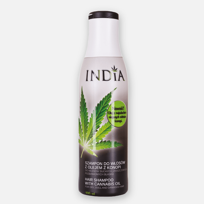 India Shampoo With Added Hemp Oil - No1 CBD