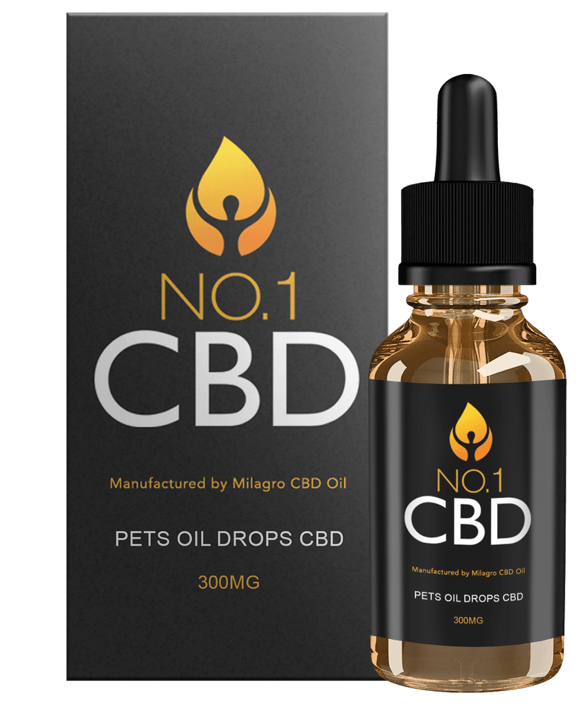 Pets Oil Drops CBD 300mg - No1 CBD