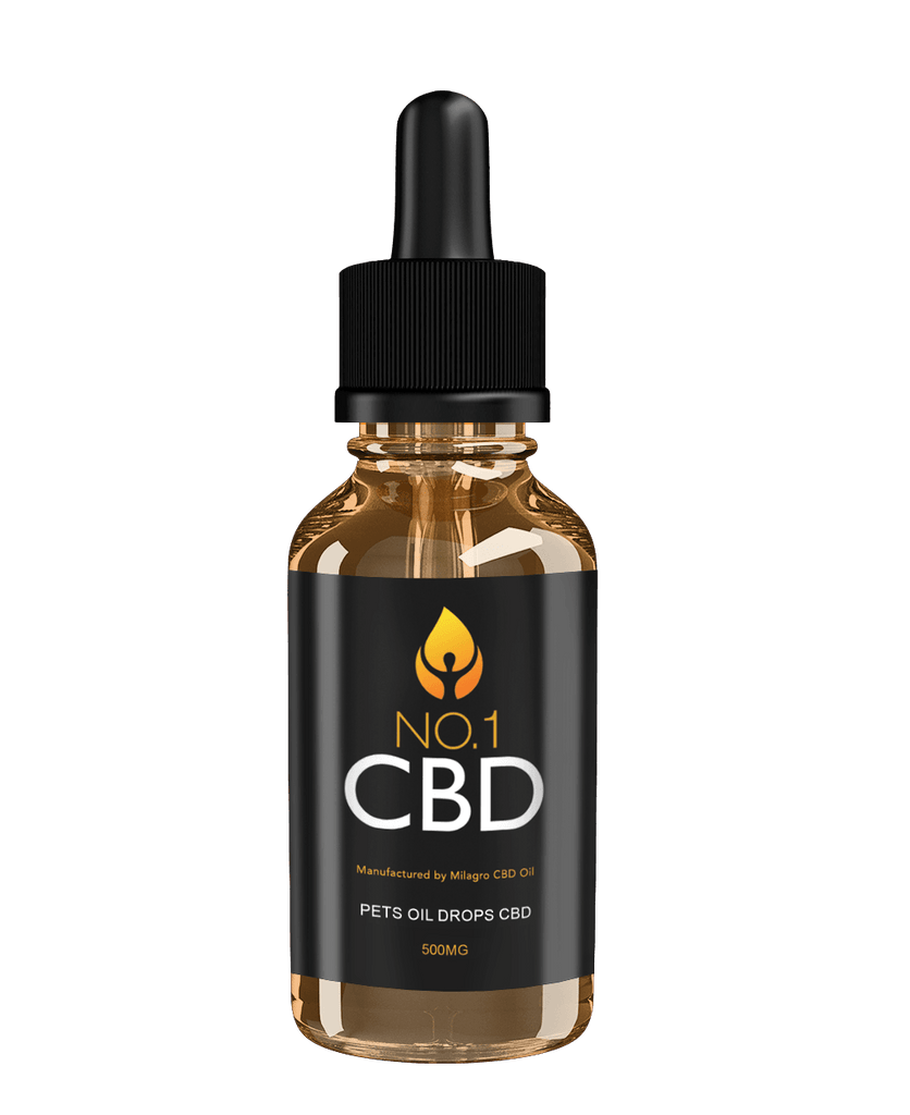 Pets Oil Drops CBD 500mg - No1 CBD