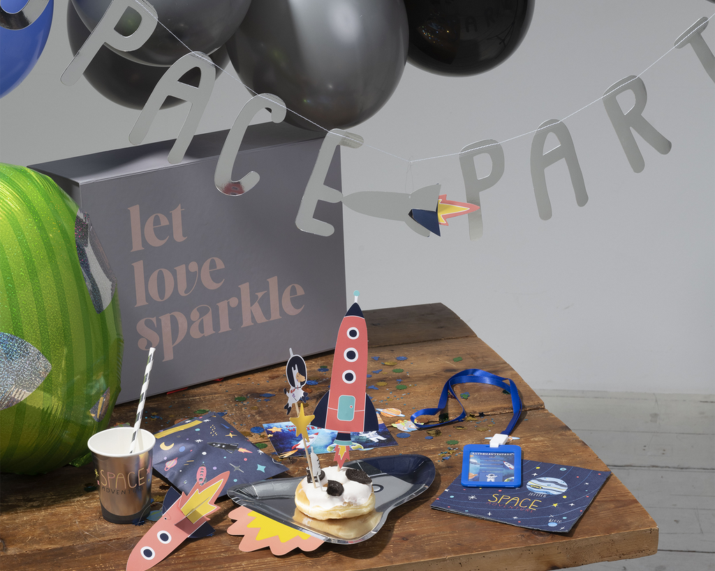 "Partybox ""Space Party"" für 12 Kinder"