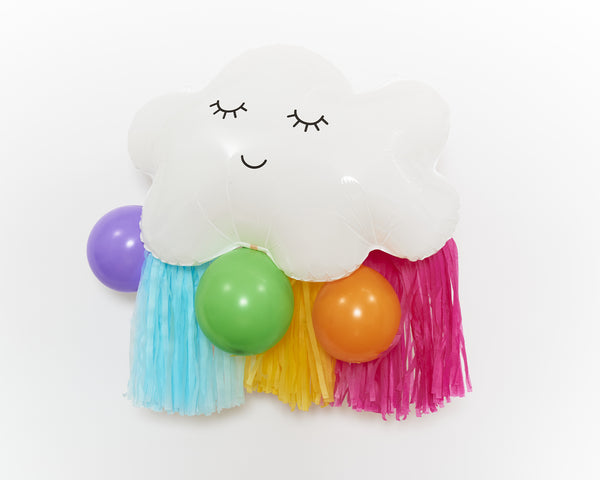 "Ballon-Set ""Cloudy Rainbow"""