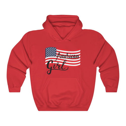 American Girl Hooded Sweatshirt
