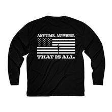 Load image into Gallery viewer, Patton's Speech Long Sleeve Moisture Absorbing Tee