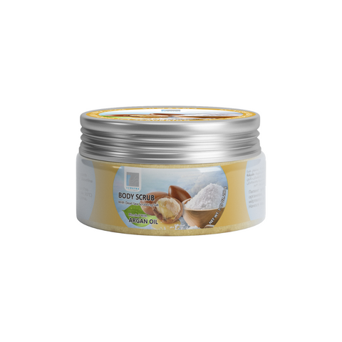 Body Scrub with Dead Sea Scrubbing Salt (Argan Oil) 300gr