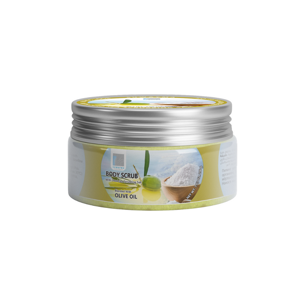 Body Scrub with Dead Sea Scrubbing Salt (Olive Oil) 300gr