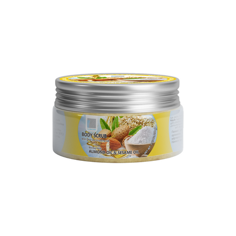 Body Scrub with Dead Sea Scrubbing Salt (Almond Oil & Sesame Oil) 300gr