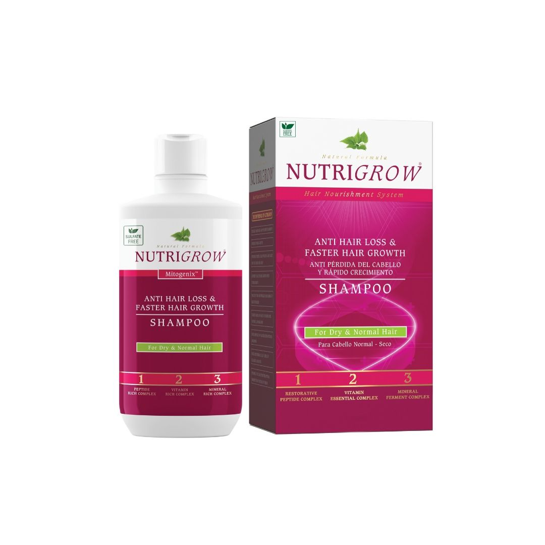 NUTRIGROW MITOGENIX SHAMPOO FOR DRY&NORMAL HAIR 300 ml
