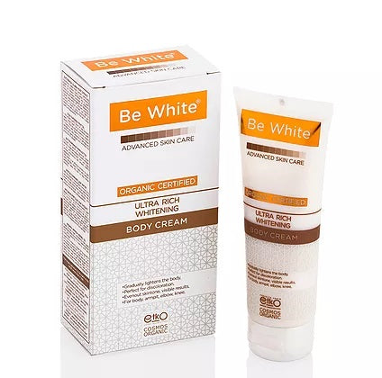 BE WHITE - ULTRA RICH WHITENING BODY CREAM 75ml