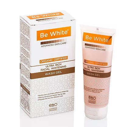 BE WHITE - ULTRA RICH FACIAL WHITENING WASH GEL 75ml