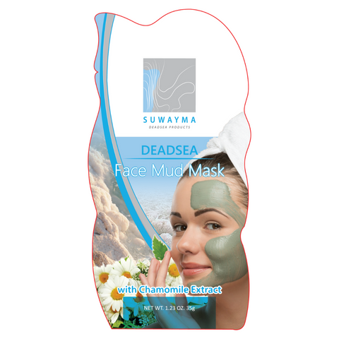 Dead Sea Face Mud Mask with Chamomile Extract 1 Sachet