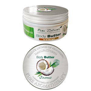 Body butter with coconut oil 300gr