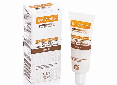 BE WHITE - ULTRA RICH INTIMATE WHITENING CREAM 40ml