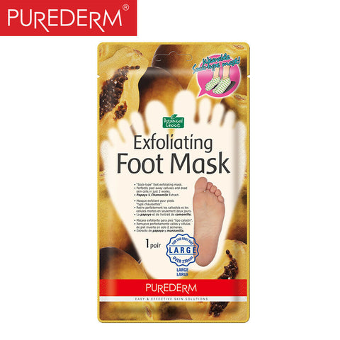 PUREDERM Exfoliating Foot Mask- Large size (over 270 mm)