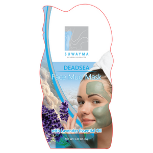 Dead Sea Face Mud Mask with Lavender Essential Oil 1 Sachet