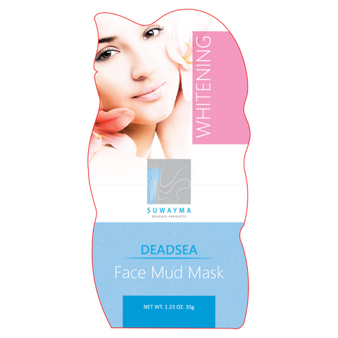 Dead Sea Face Mud Mask With Whitening Effect 1 Sachet