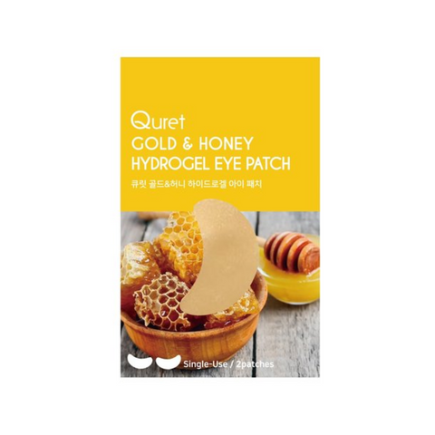 Quret Hydrogel Eye Patch - Gold & Honey