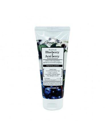 [GRACE DAY] REAL FRESH BLUEBERRY & ACAI BERRY FOAM CLEANSER - 100ML