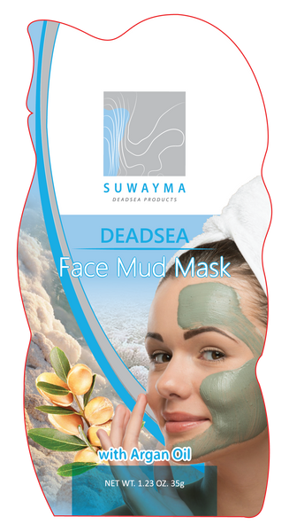 Dead Sea Face Mud Mask with Argan Oil 1 Sachet