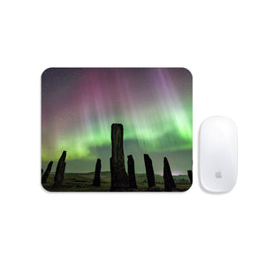 Callanish Standing Stones and Aurora Mousemat