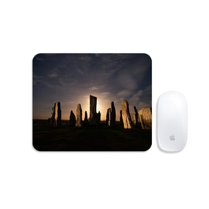Callanish, Full Moon and Clouds Mousemat
