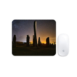 Callanish Standing Stones and Village Lights Mousemat