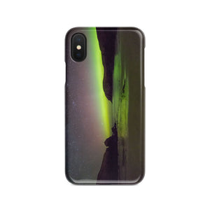 Dalbeg Beach and Aurora Phone Case