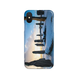Callanish Snowy Sunrise Phone Case