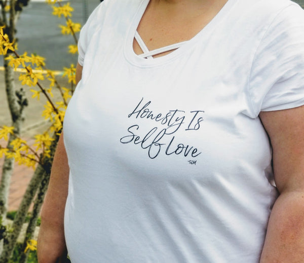 Honesty Is Self Love Curvy Tee
