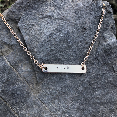Wild Mini Bar Necklace