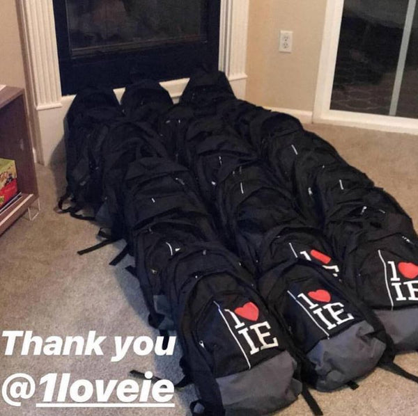 Back Pack Donation For Back-To-School Season
