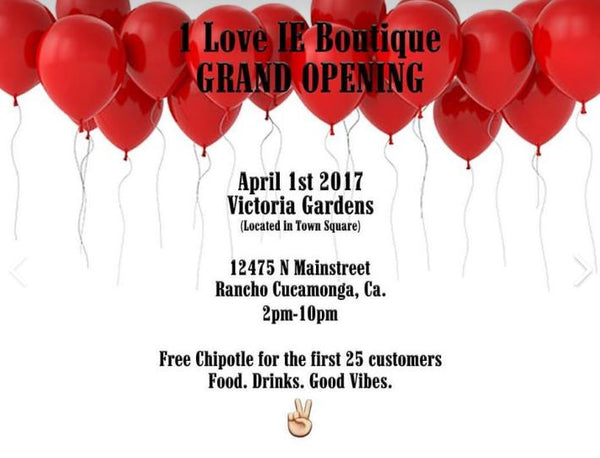 Grand Opening Of 1LoveIE Boutique Store