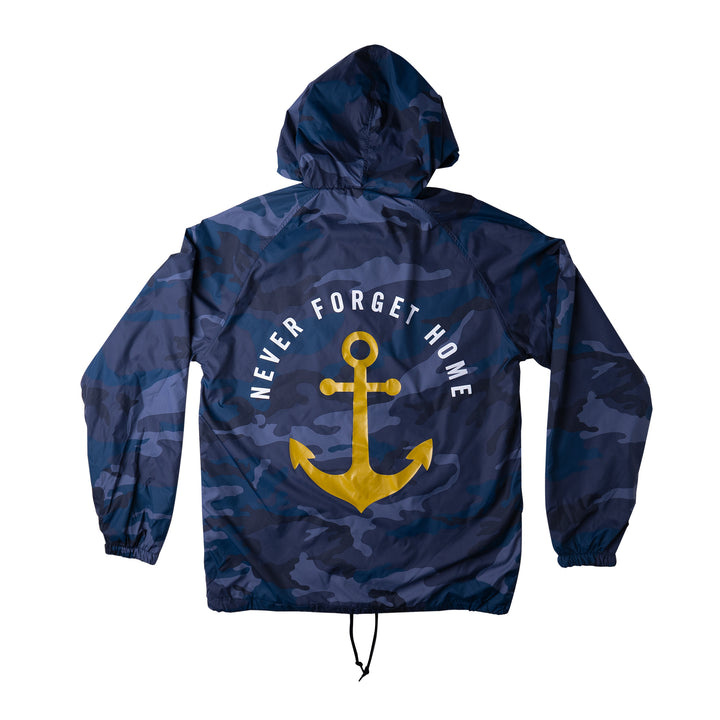 Never Forget Home Hoodie Windbreaker