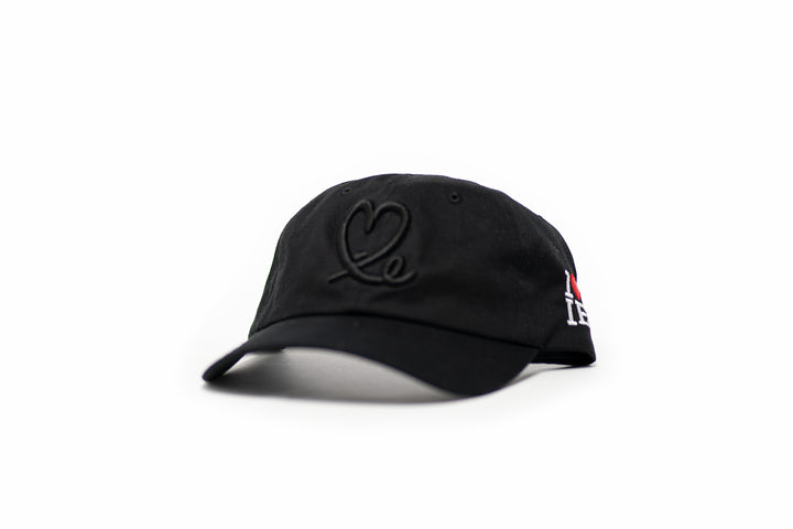 1LoveIE Signature Dad Hat (Black / Black)