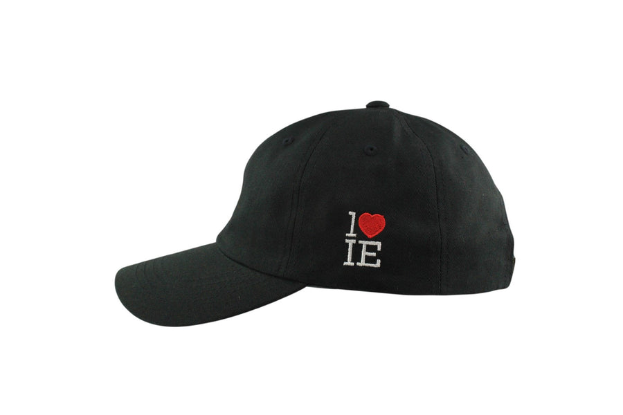 1LoveIE Signature Dad Hat (Black / Red)