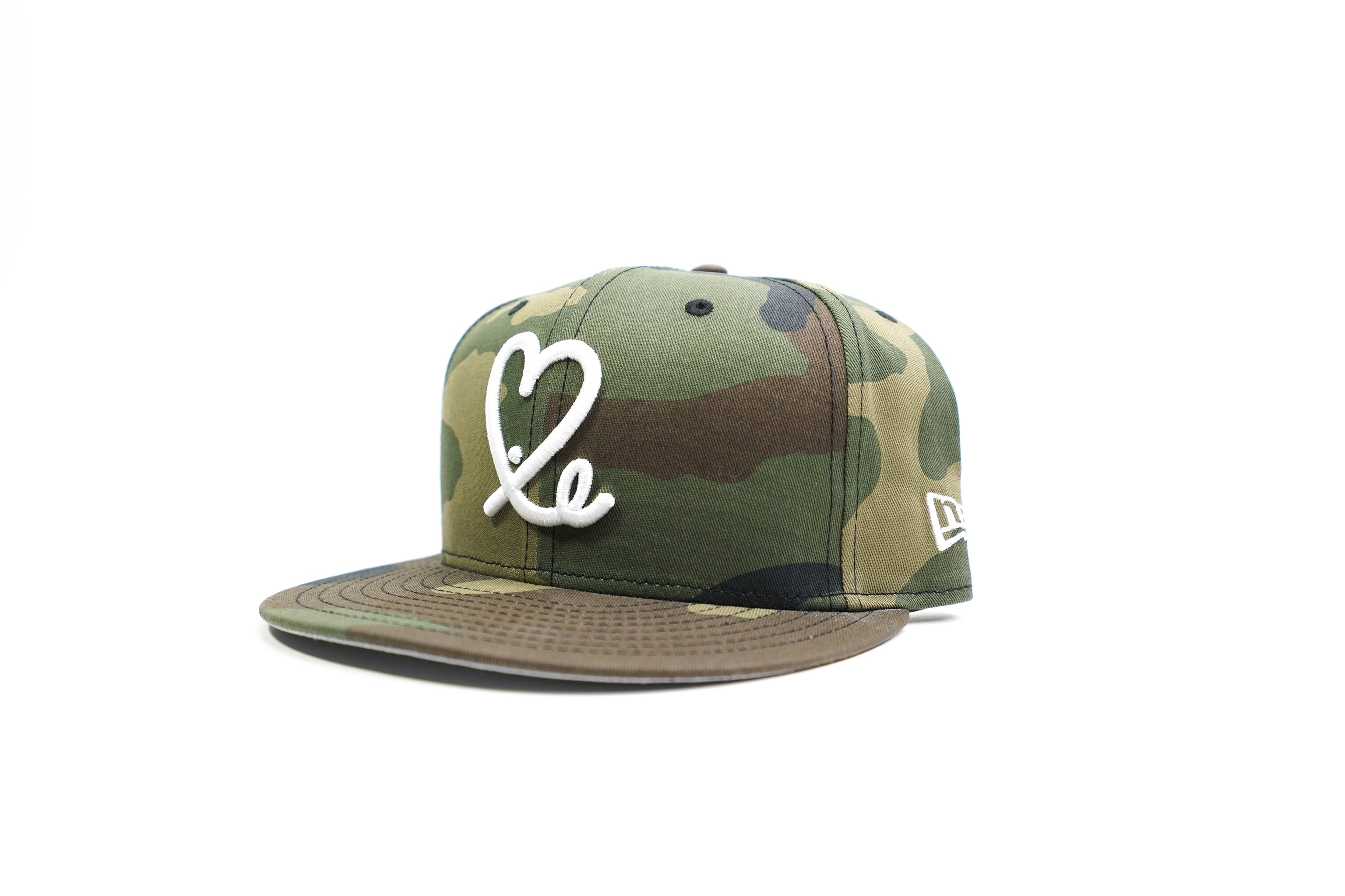 Limited Camo 1LoveIE New Era 59FIFTY Fitted Cap