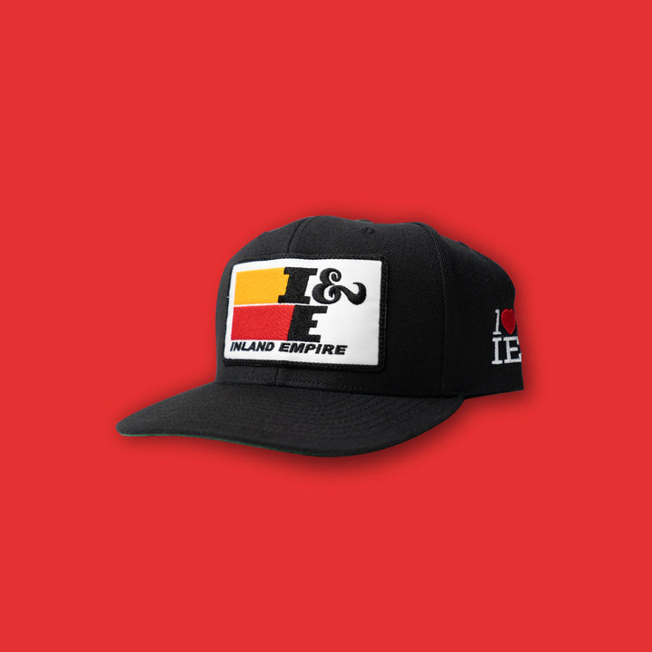 Inland Empire Filters Snapback (Black/White)