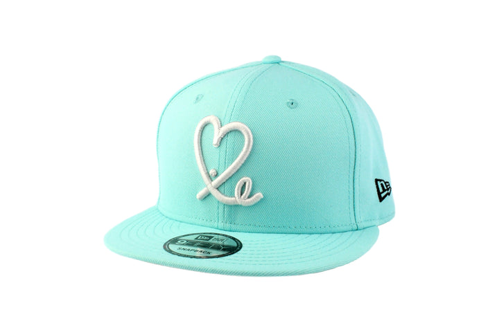 Limited 1LoveIE Tiffany Teal New Era 9Fifty Snapback Hat