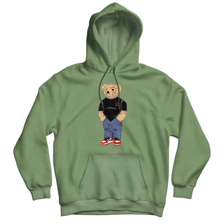 Jasper The Bear Pullover (Green Apple)