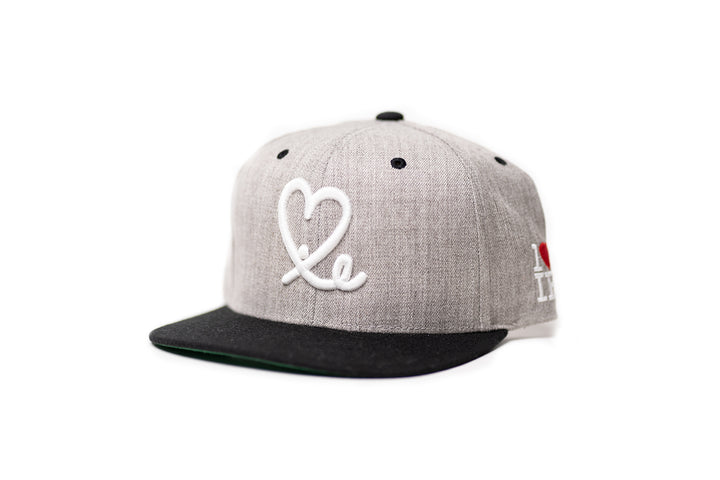 1LoveIE Snapback (Wool/White)