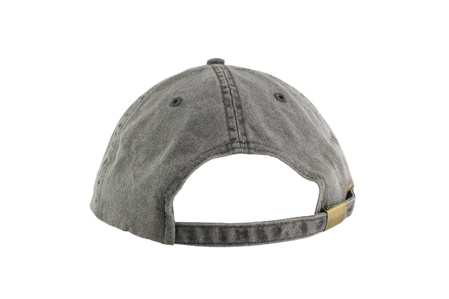 Signature Dad Hat (Charcoal Grey /White)