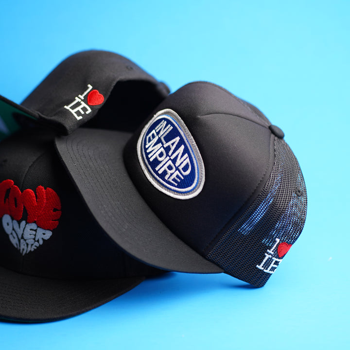 Inland Empire Tools Trucker Snapback (Black/White)