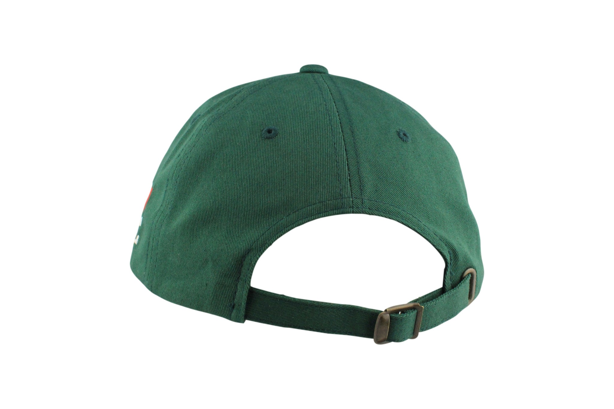 Sail Boat Signature Dad Hat (Delicate Green / Red)