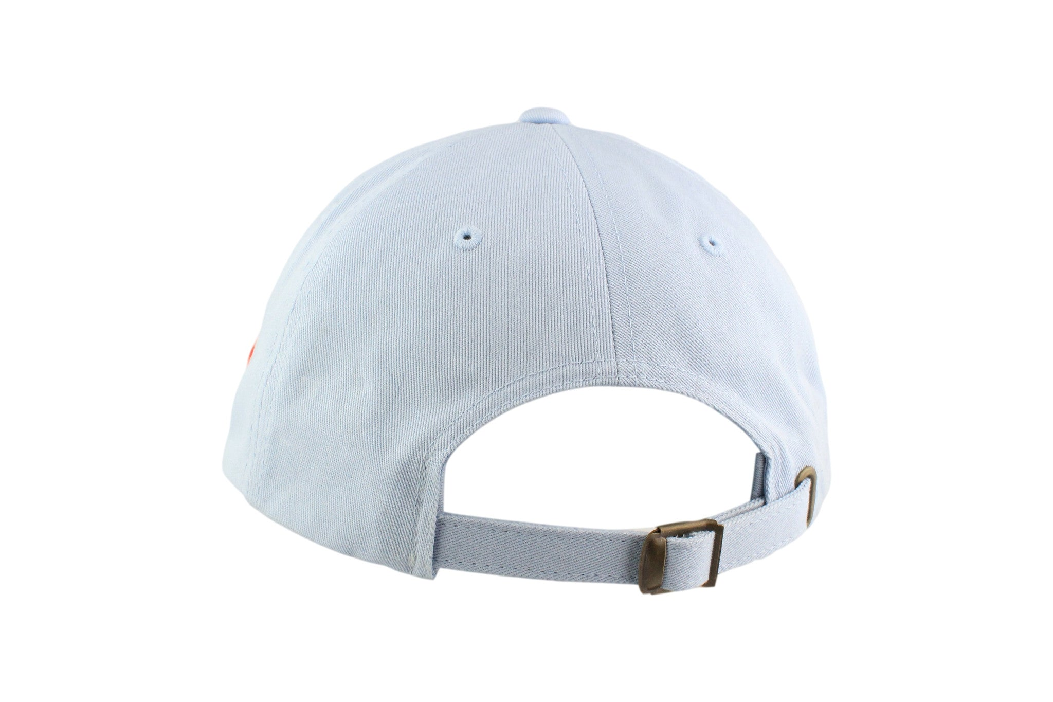 Sail Boat Signature Dad Hat (Sky Blue / Red)