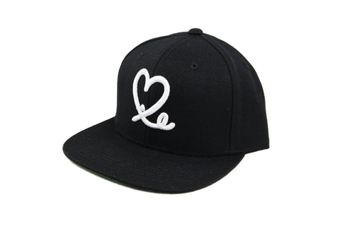 1LoveIE Signature Dad Hat (Black / White)