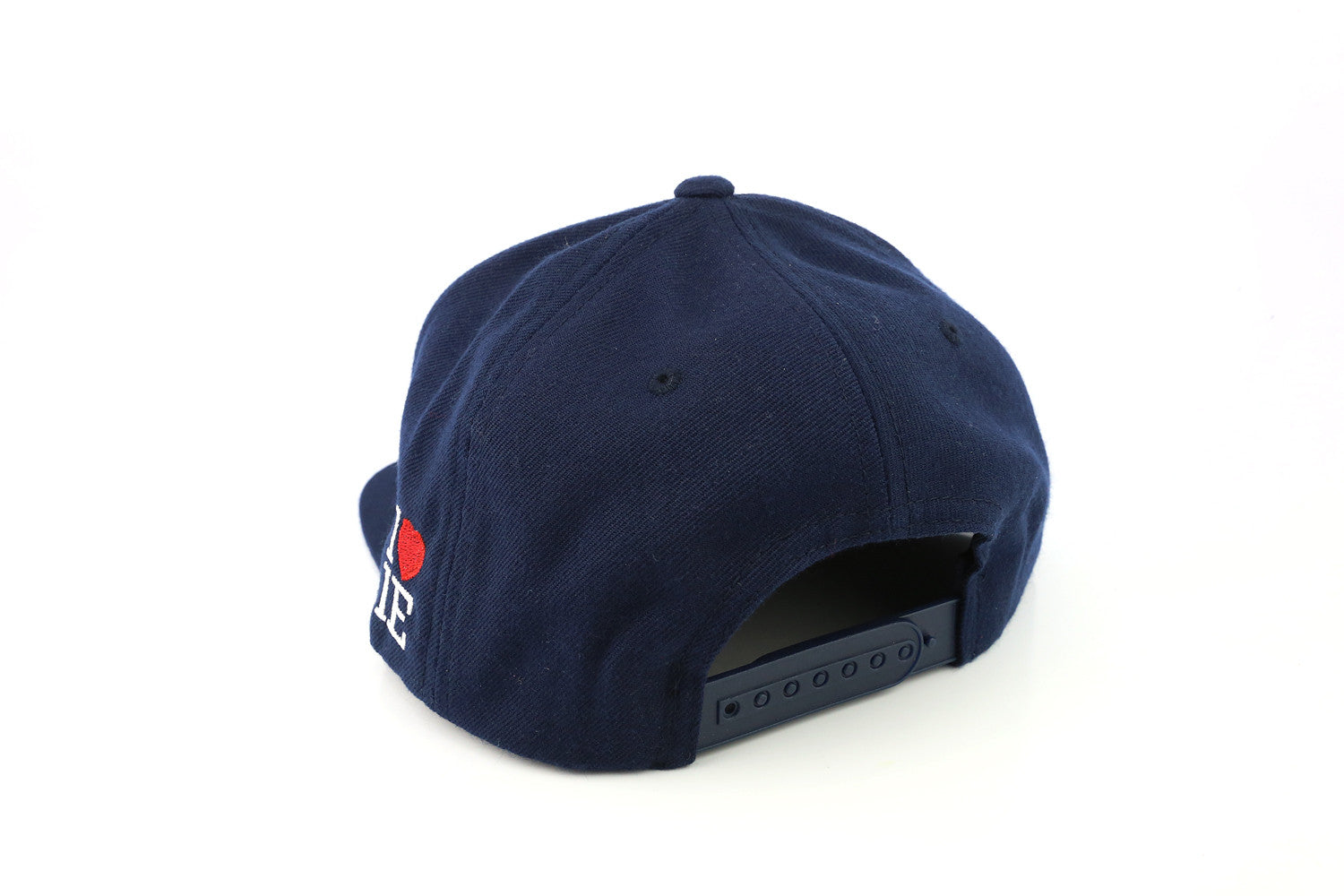 Two Tone Navy 1LoveIE Snapback (White/Red)