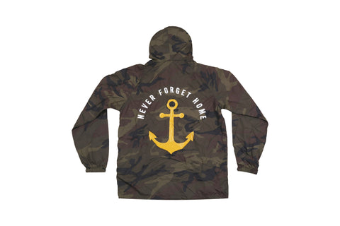 Camo Never Forget Home Parka Pull Over